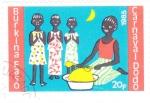 Stamps : Africa : Burkina_Faso :  CARNAVAL DODO