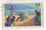Stamps Burundi -  CONMEMORACIÓN EXPLORACIÓN POR STANLEY Y LIVINGSTONE