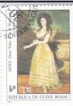 Stamps of the world : Guinea Bissau :  GOYA- Doña Tadea Arias de Enriquez