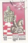 Stamps : Europe : Guinea_Bissau :  HISTORIA DEL AJEDREZ