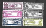 Stamps : Africa : Comoros :  Aviadores y Constructores