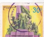 Stamps Philippines -  MONUMENTO A ANDRES BONIFACIO