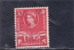 Stamps : Africa : Kenya :  ISABEL II