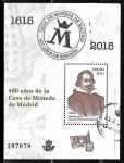 Sellos del Mundo : Europa : España : 400 años de la Casa de la Moneda de Madrid