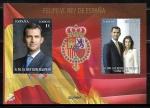 Sellos del Mundo : Europa : España : S.M. El Rey Don Felipe VI y SS.MM. Los Reyes Don Felipe VI y Doña letizia