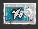 Stamps Hungary -  2282 - Centenario de la Unión Postal Universal