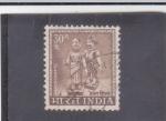 Sellos de Asia - India -  FIGURAS