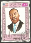Stamps Yemen -  261 - Martin Luther King