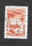 Sellos de Europa - Hungría -  C262 - Aerolíneas Hungaras