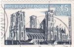 Sellos de Europa - Francia -  CATEDRAL DE LAON