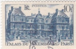 Stamps France -  PALACIO DE LUXEMBURGO-PARIS