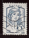 Stamps : Europe : France :  cambio