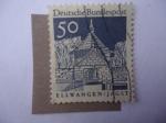 Stamps of the world : Germany :  Puerta del Castillo Ellwangen (Jagst) Alemania,Berlín