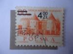 Stamps Poland -  Barbacana, Castillo Gótico Renacentista - 700° Aniversario de Varsovia.