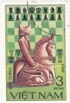 Stamps : Asia : Vietnam :  AJEDREZ