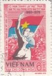Stamps : Asia : Vietnam :  10 ANIVERSARIO REVOLUCIÓN