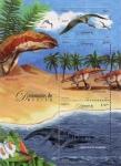 Stamps Mexico -  Dinosaurios de Mexico