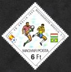 Sellos de Europa - Hungría -  Copa mundial de futboll España 82