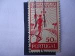 Sellos de Europa - Portugal -  Congreso de Ciencias Agrarias -  Agricultura, Herramientas
