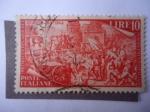 Sellos de Europa - Francia -  Primer Centenario del Risorgimento Italiano - Vicencia 24-V-1848