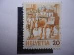 Stamps Switzerland -  correo - entrega - encomiendas