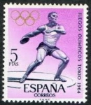 Sellos de Europa - España -  1621 JUEGOS OLIMPICOS