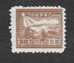 Sellos de Asia - China -  5L24 - Locomotora