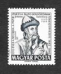 Stamps Hungary -  Centenario de Impresores