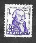 Sellos de Europa - Hungría -  1458 - Centenario de Impresores
