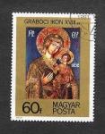Stamps Hungary -  18 Centenario de los Iconos. La Virgen y el Niño.