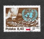 Sellos de Europa - Polonia -  2417 - XXXV Aniversario de las Naciones Unidas