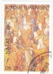 Stamps : Africa : São_Tomé_and_Príncipe :  NAVIDAD-1990