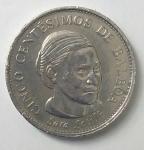 monedas del Mundo : America : Panamá :  2001-5 centésimos de balboa