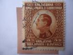 Stamps Yugoslavia -  King Alexander I (1888-1934) - Reino de Serbia, Croacia y Slovenia