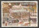 Stamps of the world : Thailand :  656 - Frescos Ramayana, del templo de Buda