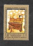 Stamps United Arab Emirates -  Mi1323A - Piano