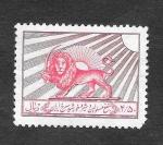 Stamps Iran -  RA2 - León y Sol