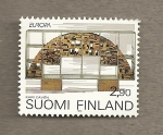 Stamps Finland -  Escultura moderna