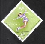 Stamps Hungary -  Juegos Olímpicos de Invierno 1968, Grenoble