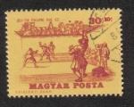 sellos de Europa - Hungría -  Historia del tenis