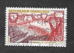 Stamps France -  Central Eléctrica