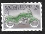Sellos del Mundo : Europa : Hungría : Suzuki Katana GSX, 1983