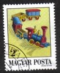 Sellos del Mundo : Europa : Hungría : Juguetes antiguas, pequeño tren