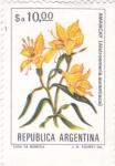 Stamps : America : Argentina :  FLORES- AMANCAY