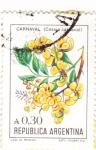 Stamps Argentina -  FLORES- CARNAVAL
