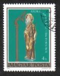 Stamps Hungary -  Ataúd de Pascua de Garamszentbenedek