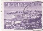 Stamps Argentina -  PANORÁMICA DE  MAR DEL PLATA