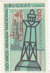 Stamps : America : Uruguay :  150 AÑOS ARMADA NACIONAL