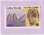 Stamps Cape Verde -  lucha contra el tabaco