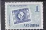 Stamps : America : Argentina :  DIA DEL FILATELISTA